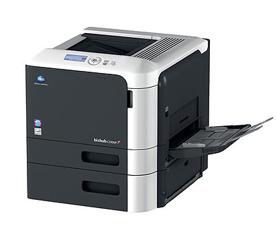 Impresora láser a color formato A4 Konica Minolta BHC3100P especial para oficinas o diseñadores gráficos