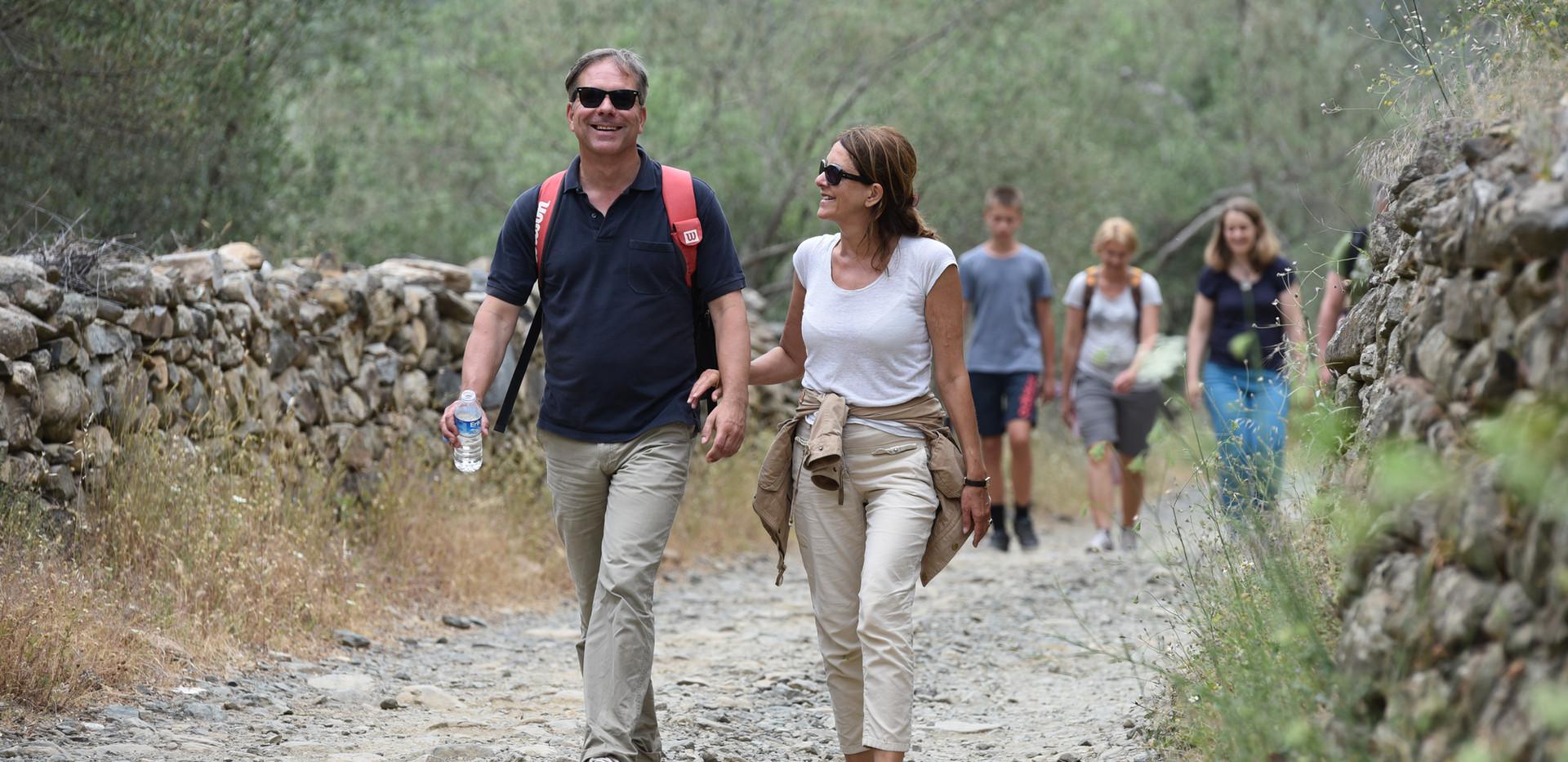 Wandern in den Idabergern