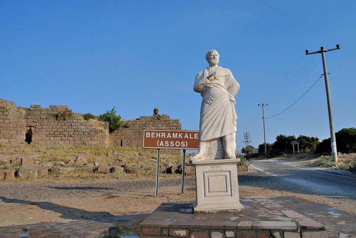 Aristoteles in Assos