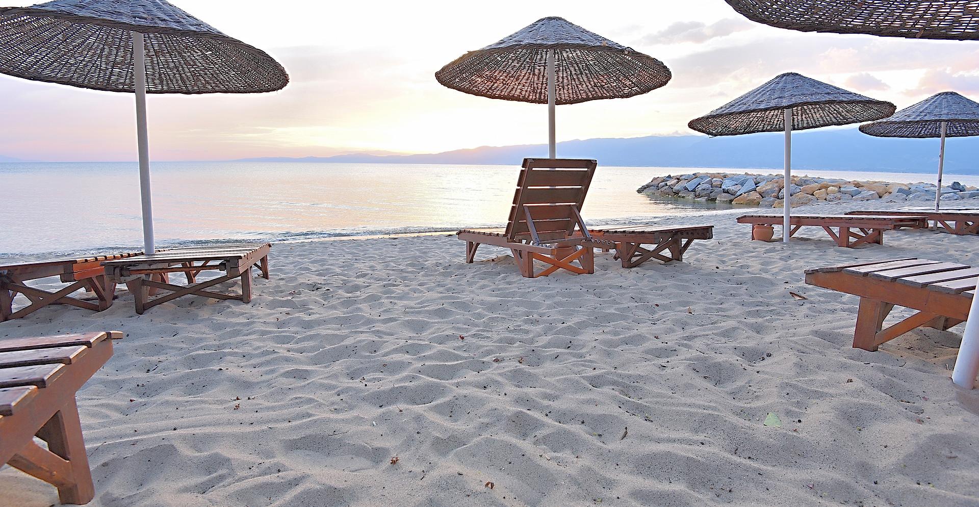 Hauseigener Strand