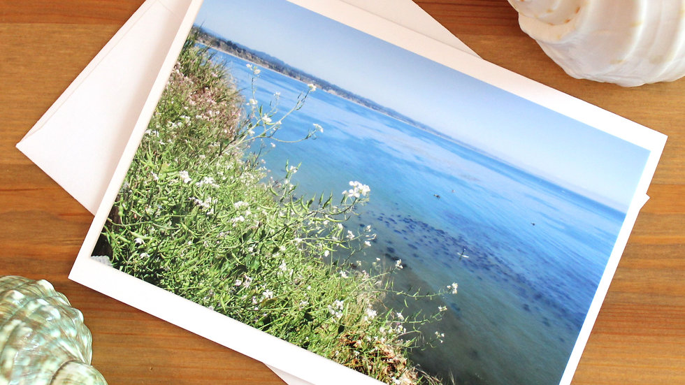 Capitola Ocean View photo card -9548