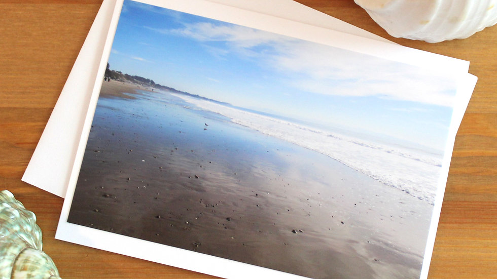 Seacliff State Beach Aptos photo card -9541