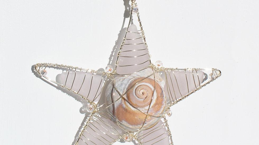 Star Sea Glass Ornament by Victoria -19285