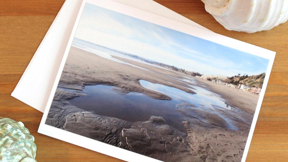 Seacliff State Beach Aptos photo card -9535