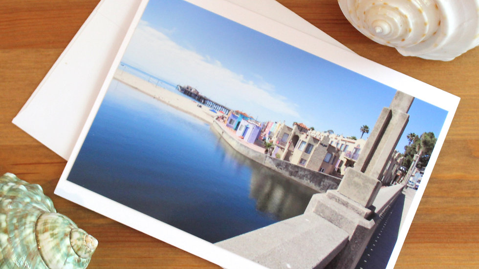 Capitola Village photo card -9526