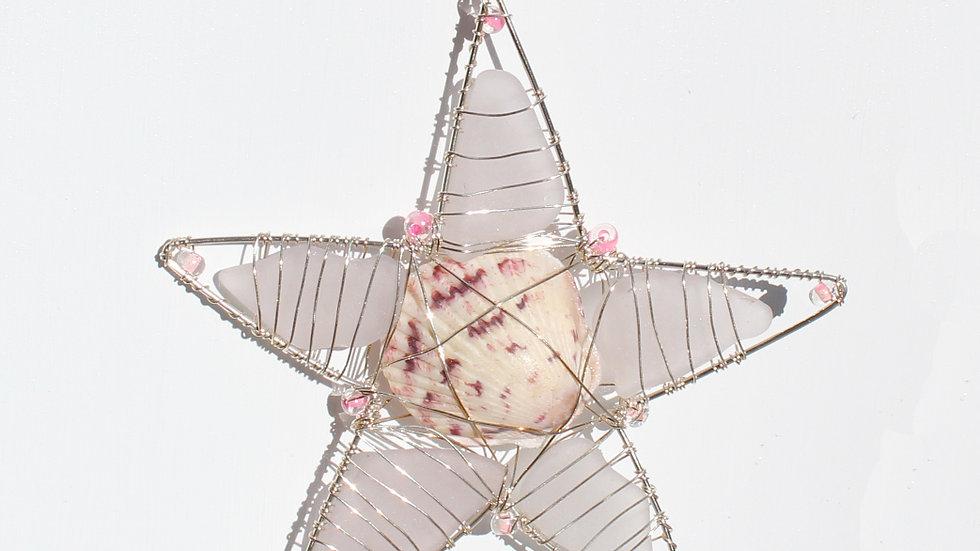 Star Sea Glass Ornament by Victoria -19305