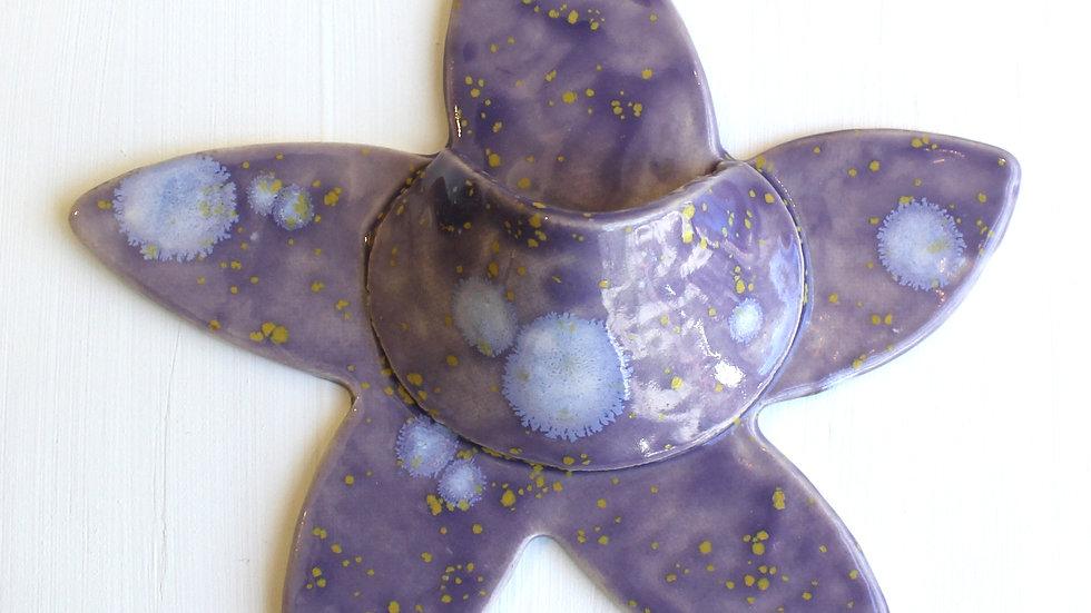 Starfish Wall Pocket by Jen -318