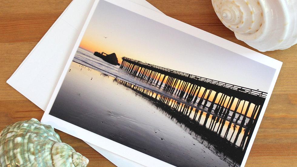 Cement Ship Seacliff Beach Aptos photo card -9519