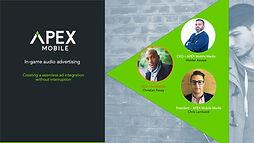 APEX WEBINAR- In game audio advertising_
