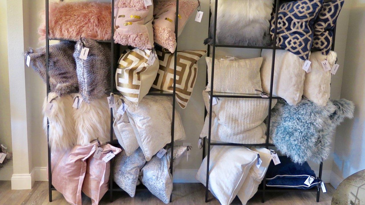 MRI Boutique Throw Pillows