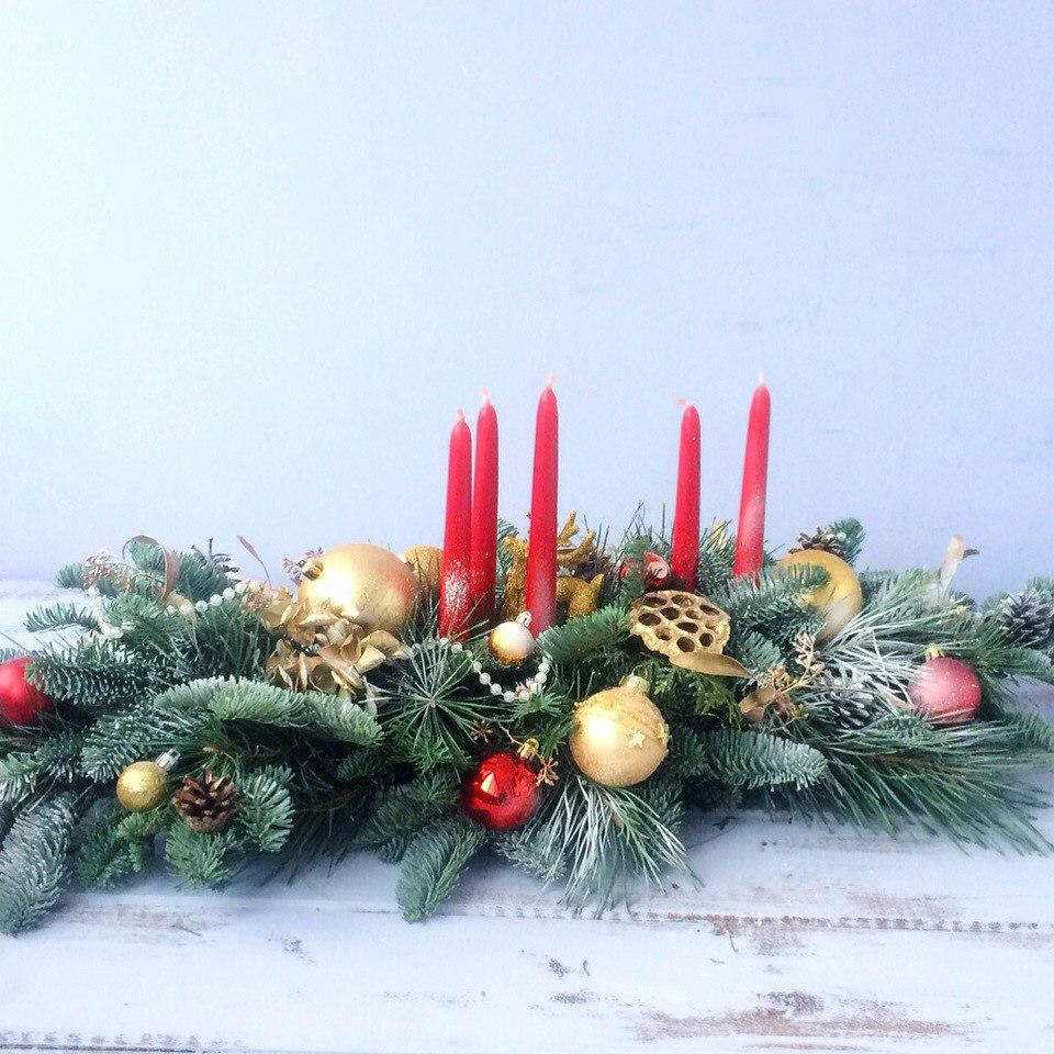 Новогодняя композиция Зеленоград