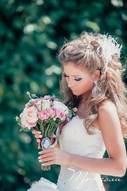 Стильный букет невесты Москваadya_4