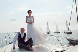 Итальянская свадьба. Свадьба у воды