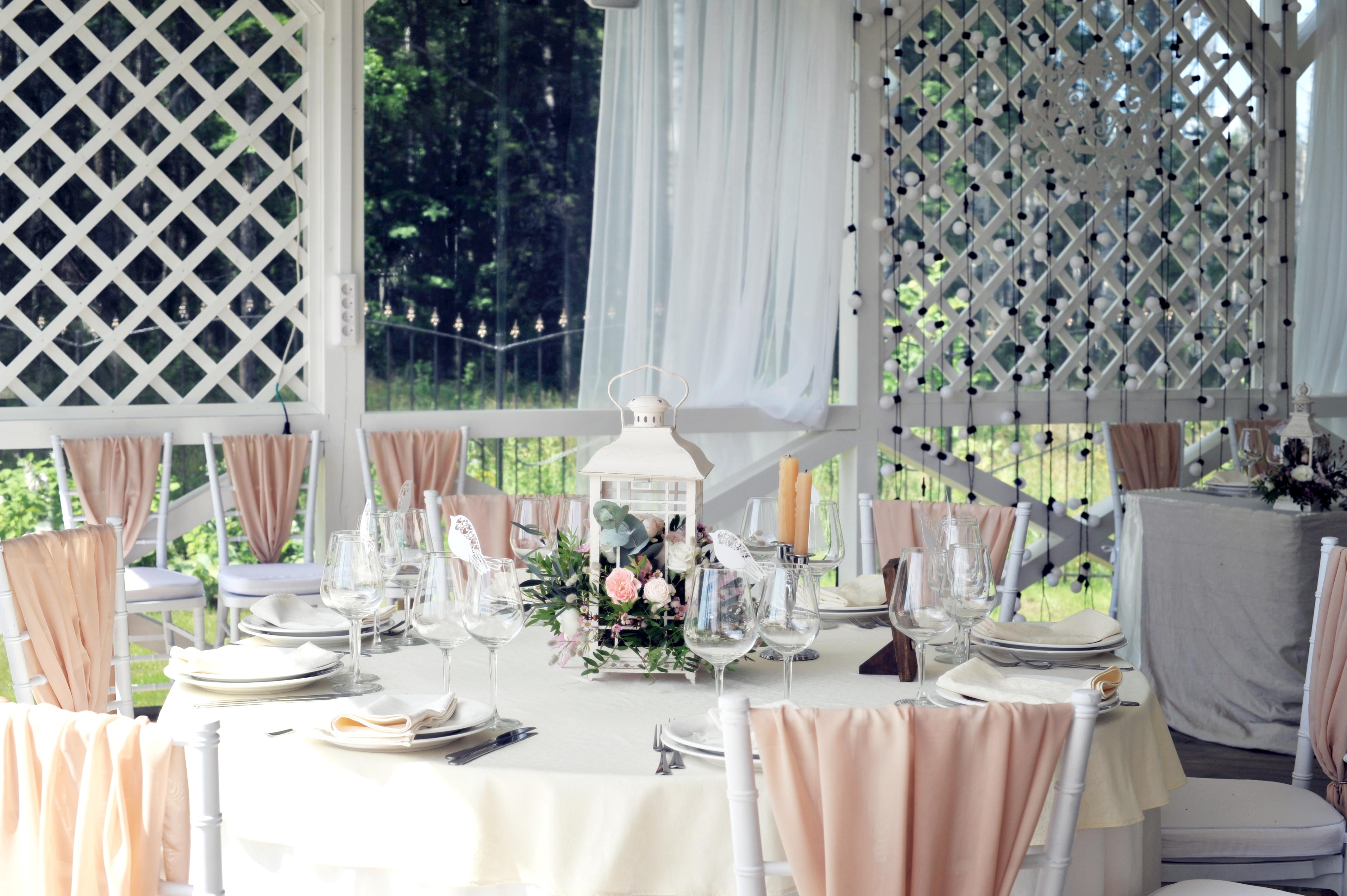 Фонарики на свадьбе