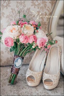 Стильный букет невесты Зеленоград.