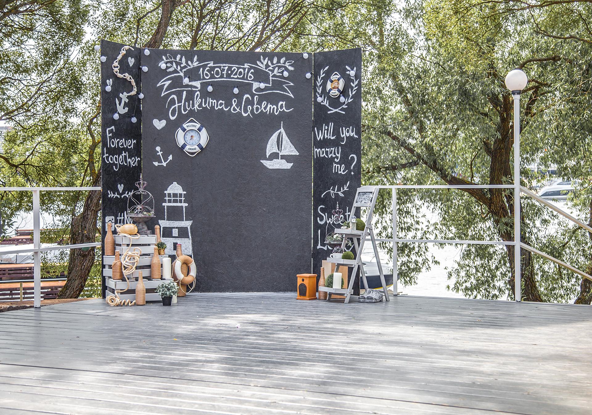Фотозона на свадьбу Зеленоград