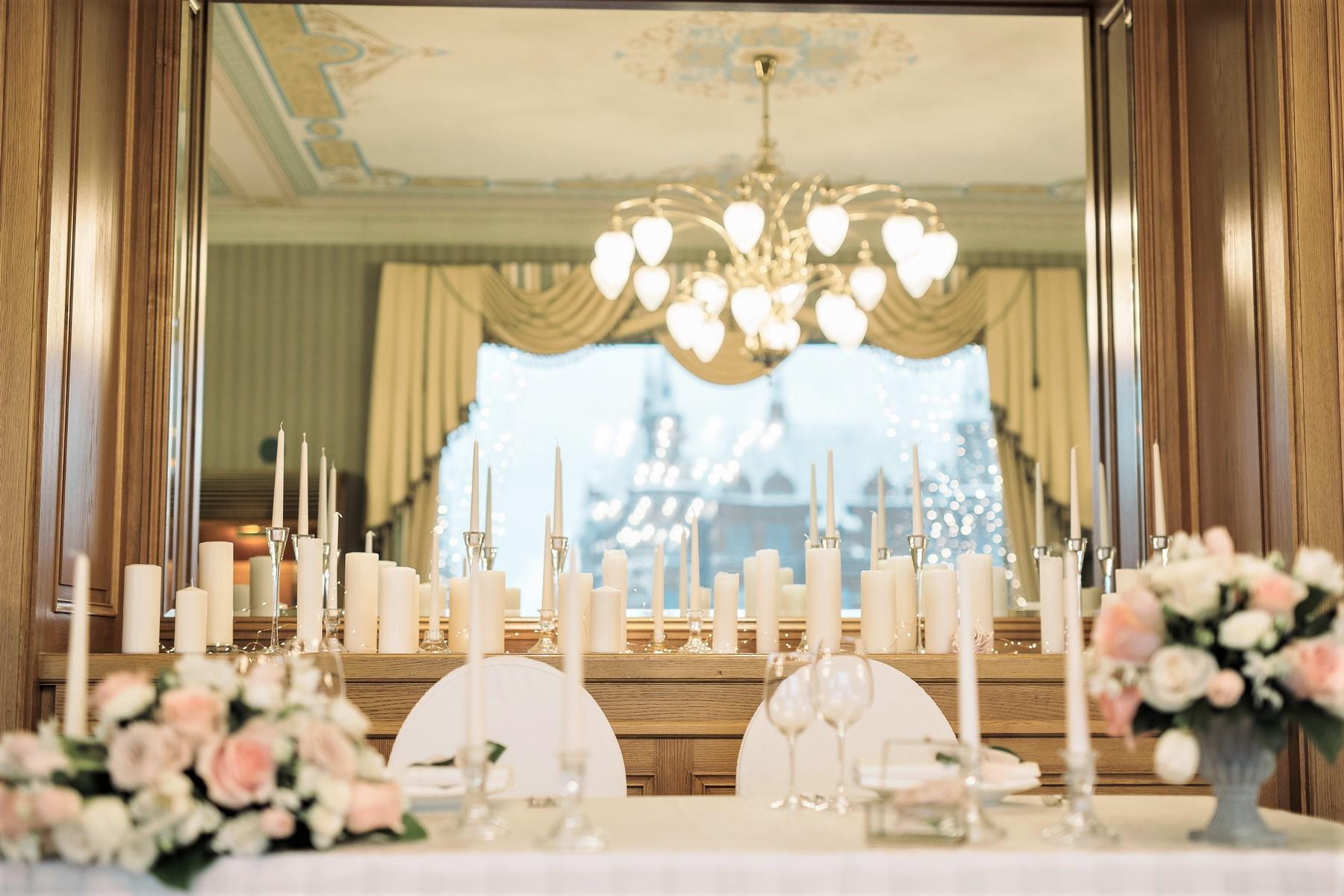 Декор классической свадьбы