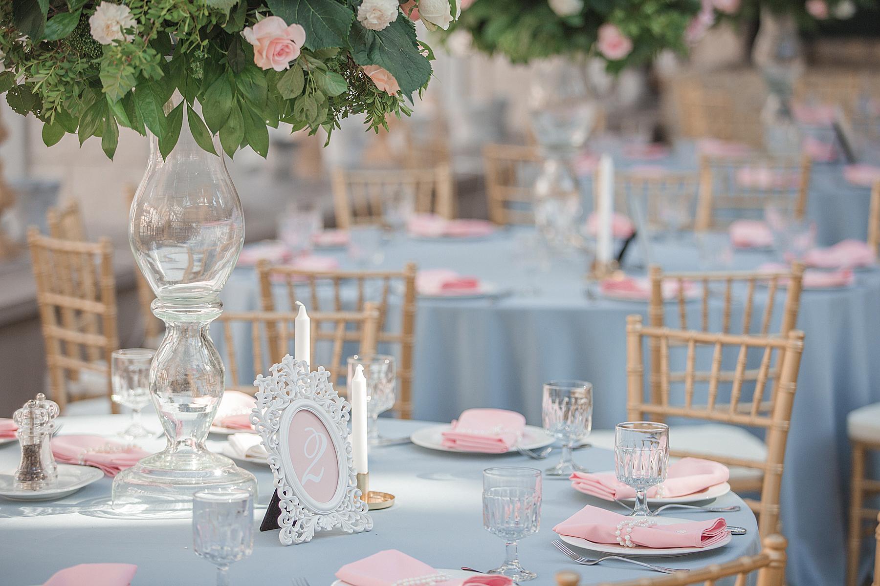 Гостевые столы на свадьбе