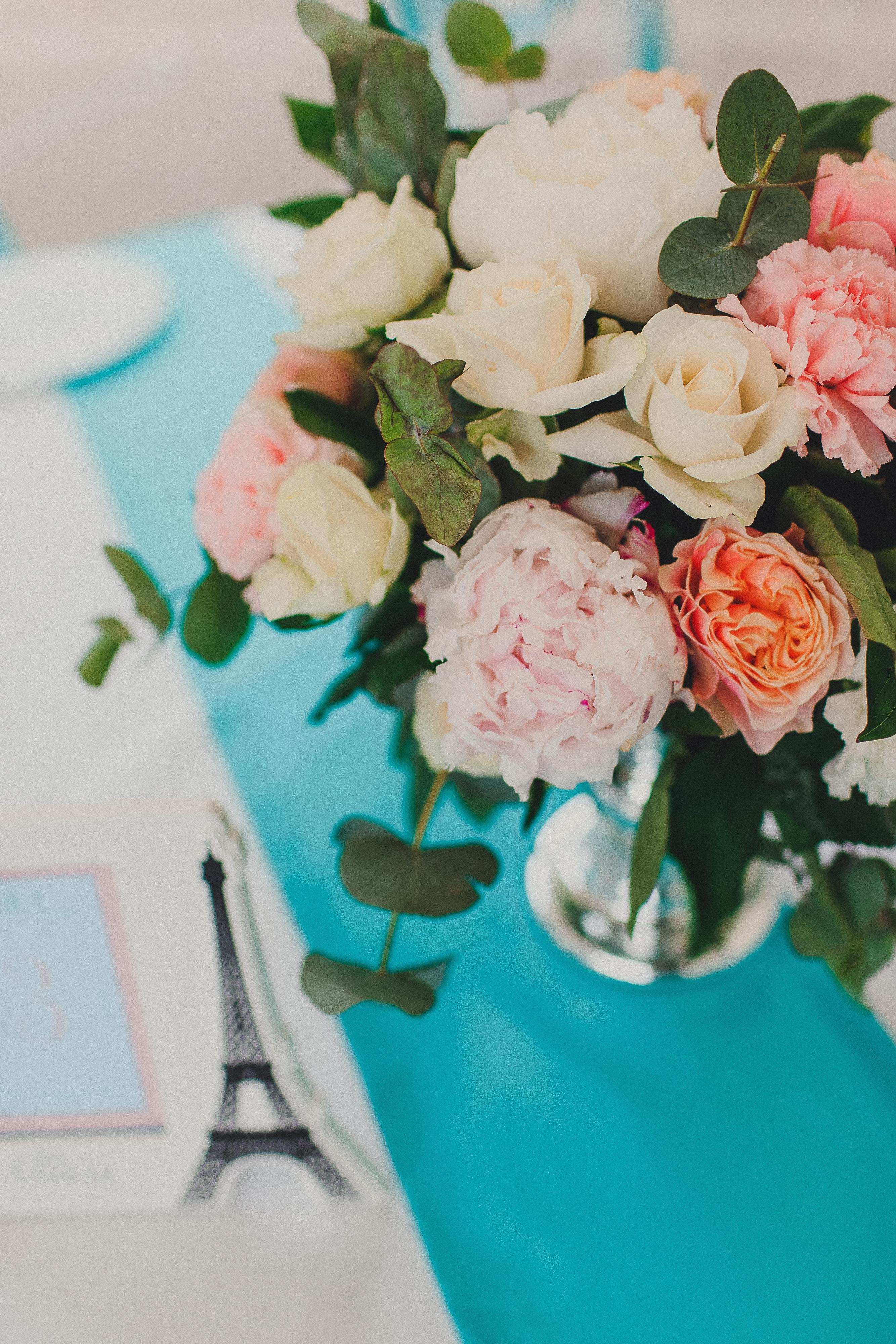 Пионы на свадьбе