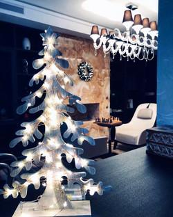 Новогоднее оформление квартиры
