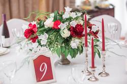 Свадьба в винных тонах