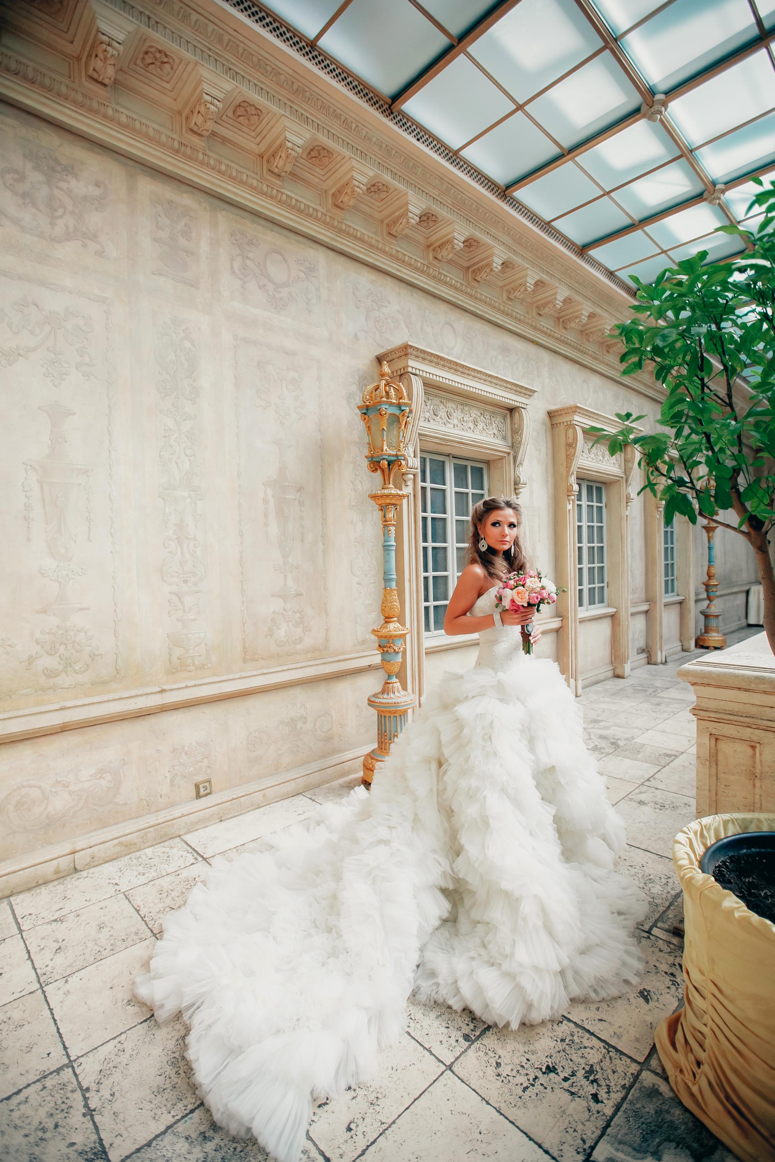 Стильный букет невесты Москва
