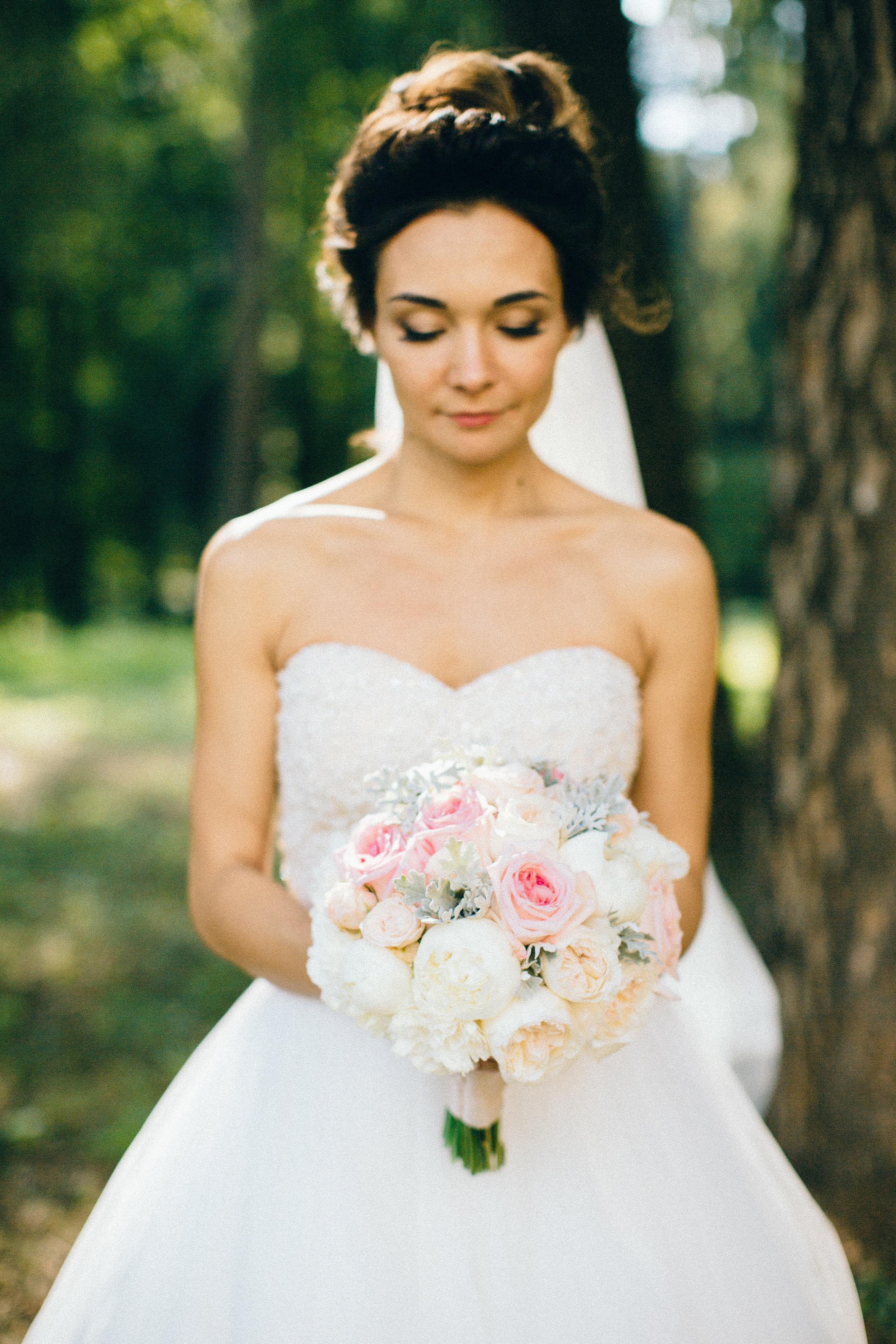 Нежный букет невесты Зеленоград и М