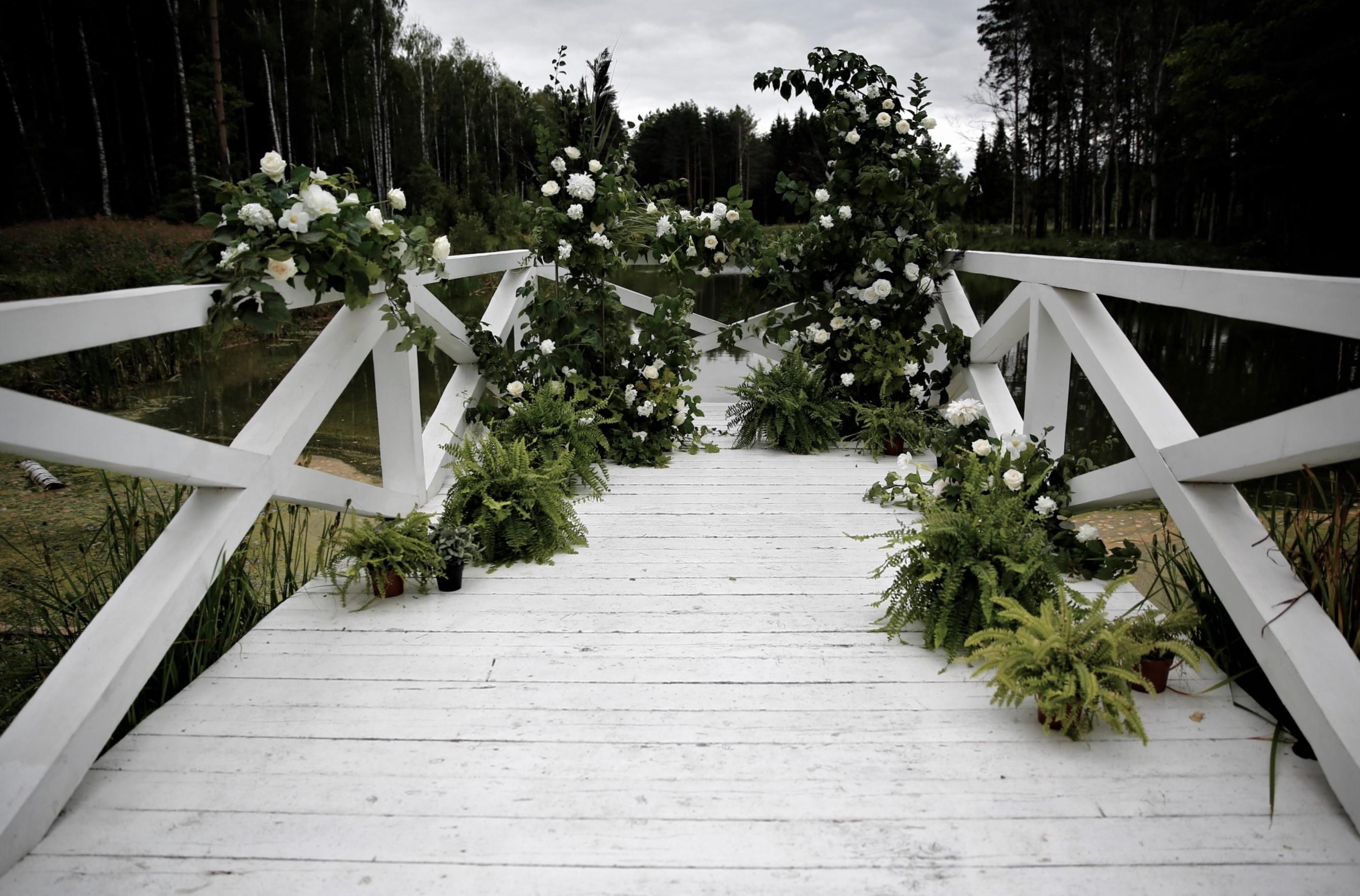 Оформление свадьбы в лесном стиле