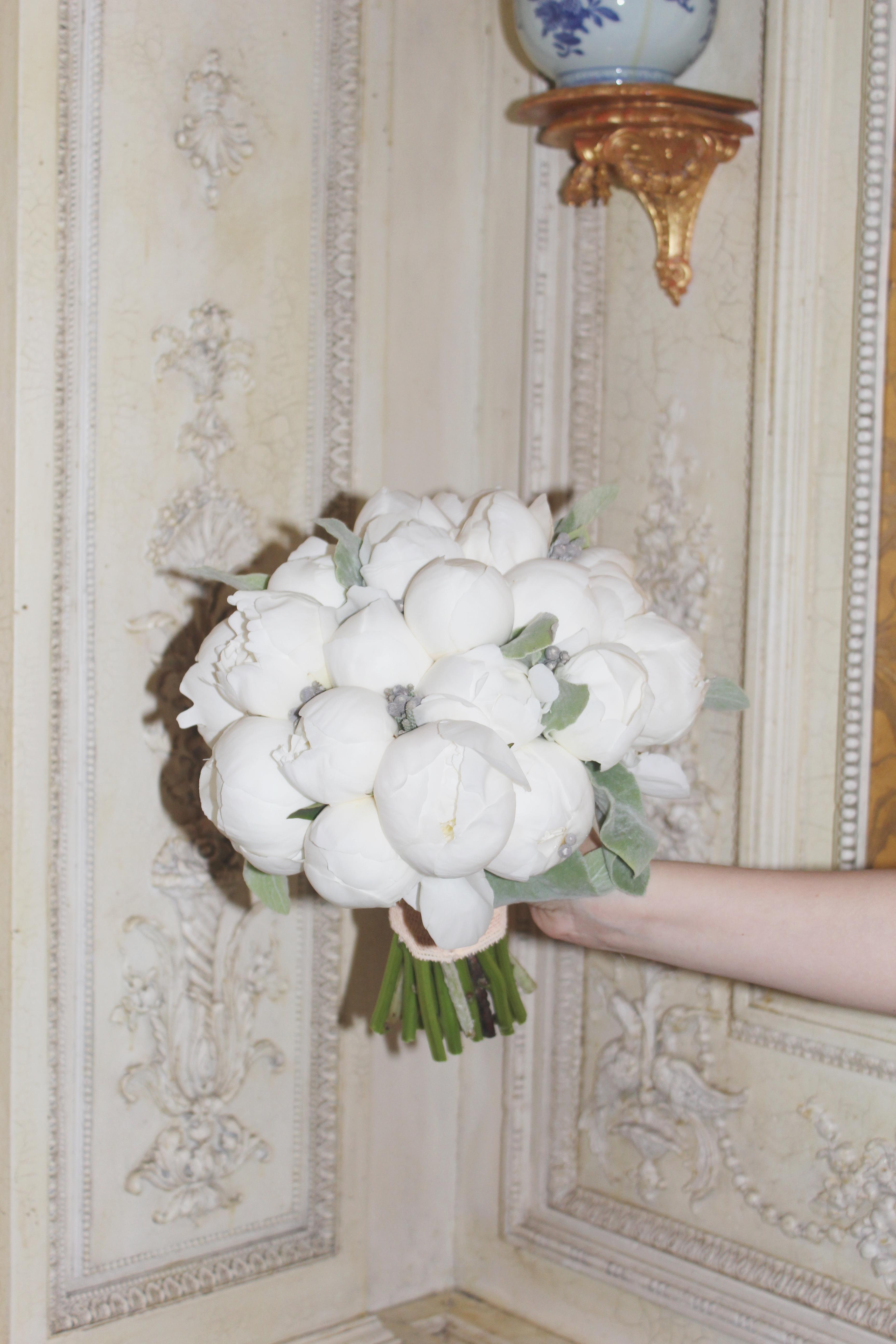 Букет невесты из пионов Зеленоград