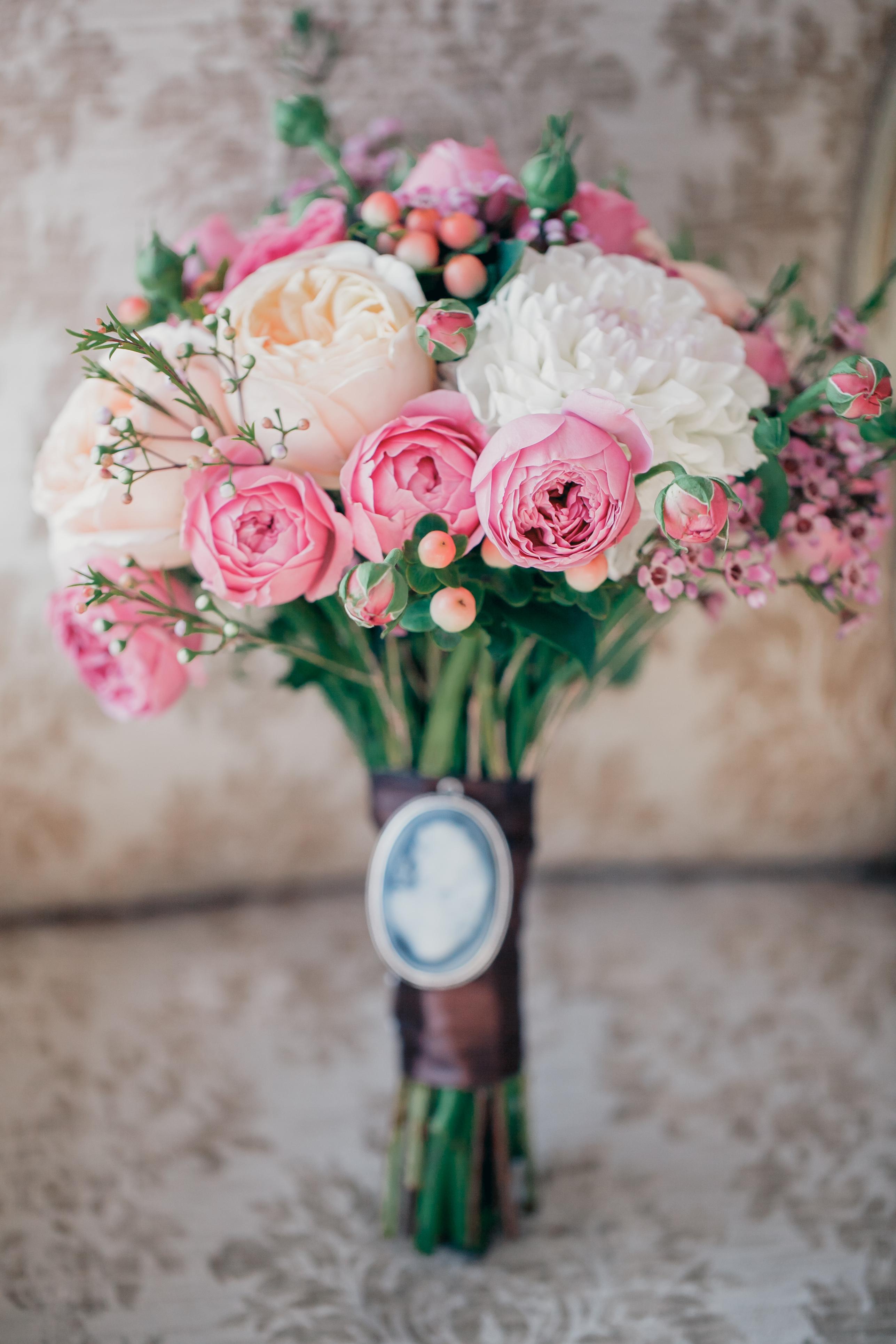 Стильный букет невесты Москва 2017