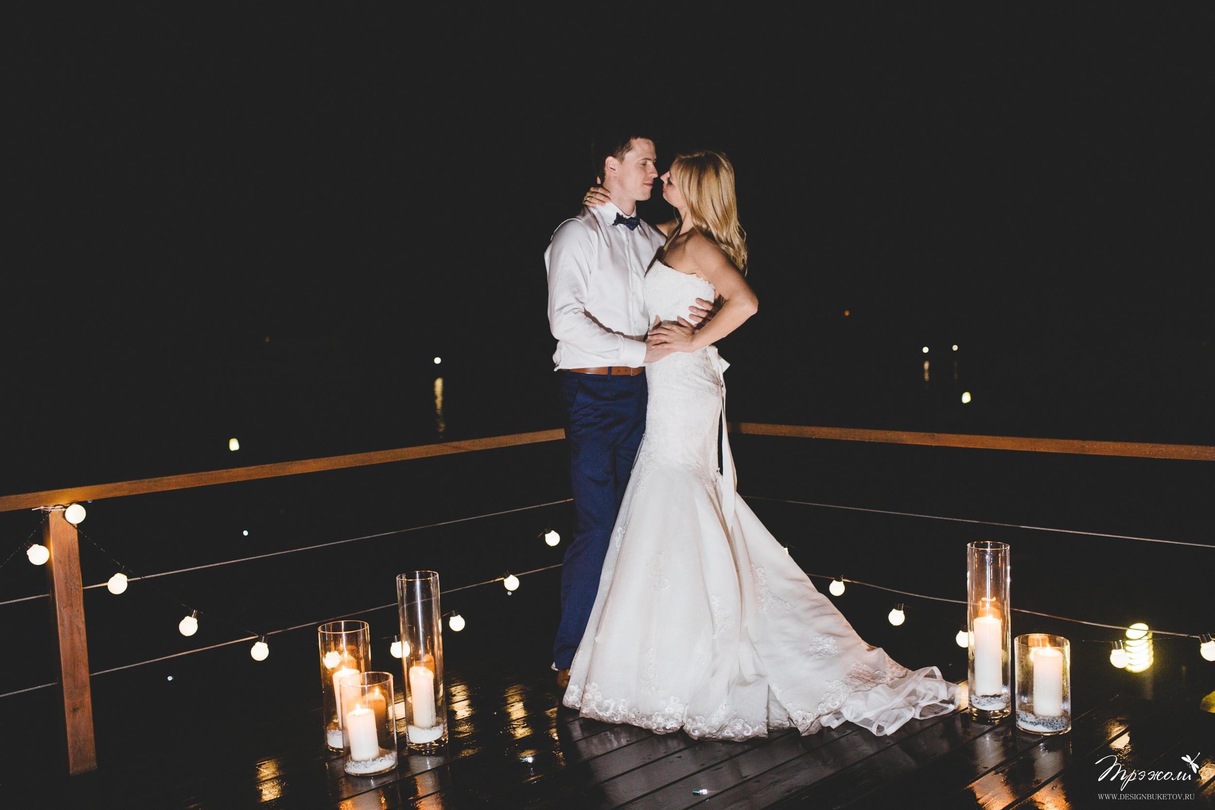 Вечерняя церемония брака