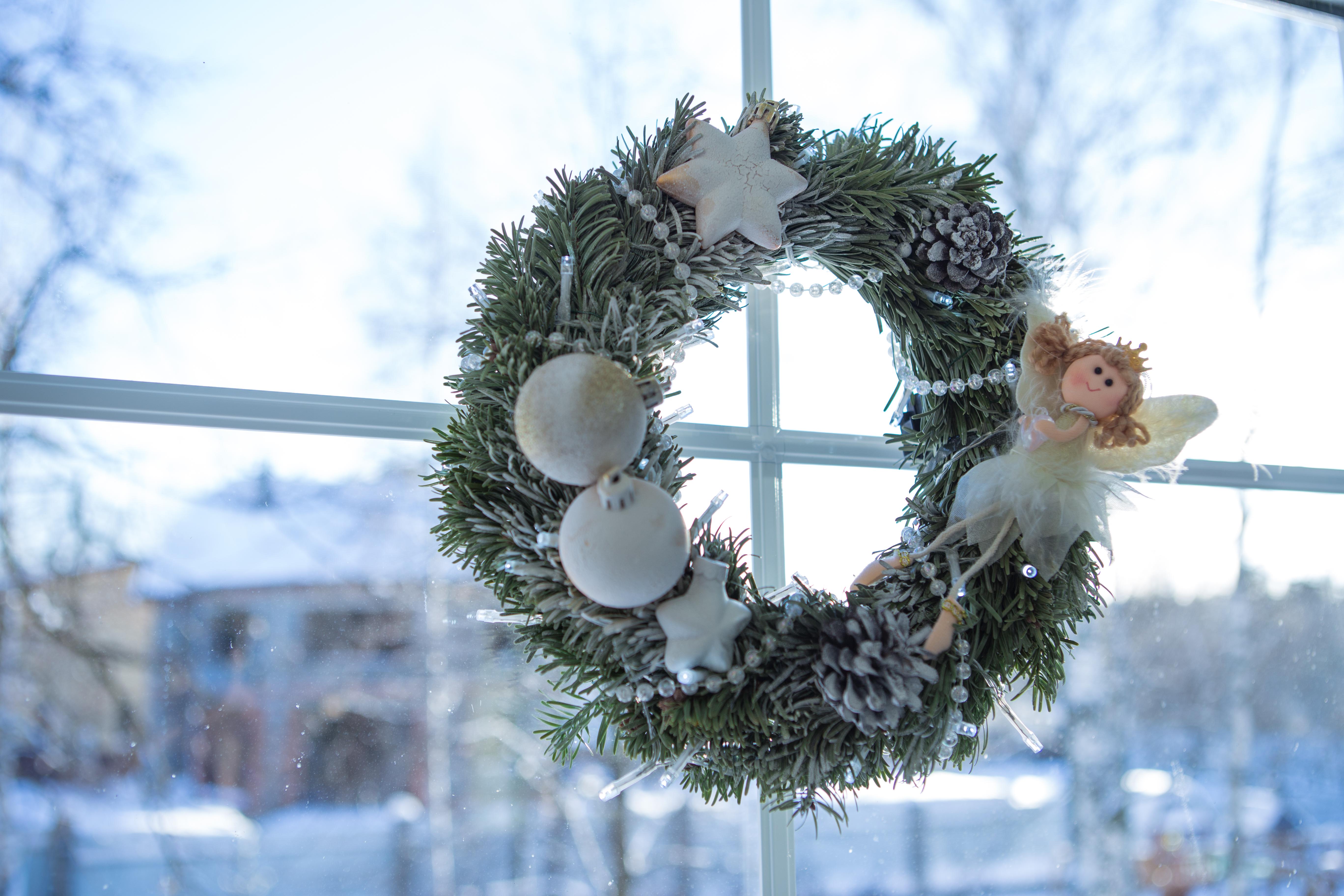 Новогодний венок Зеленоград