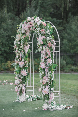 Цветочная Арка на свадьбу Зеленоград