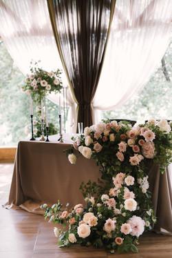 Свадебный декор, Президиум