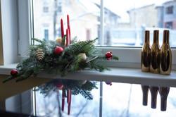 Новогоднее оформления офиса Зеленогр
