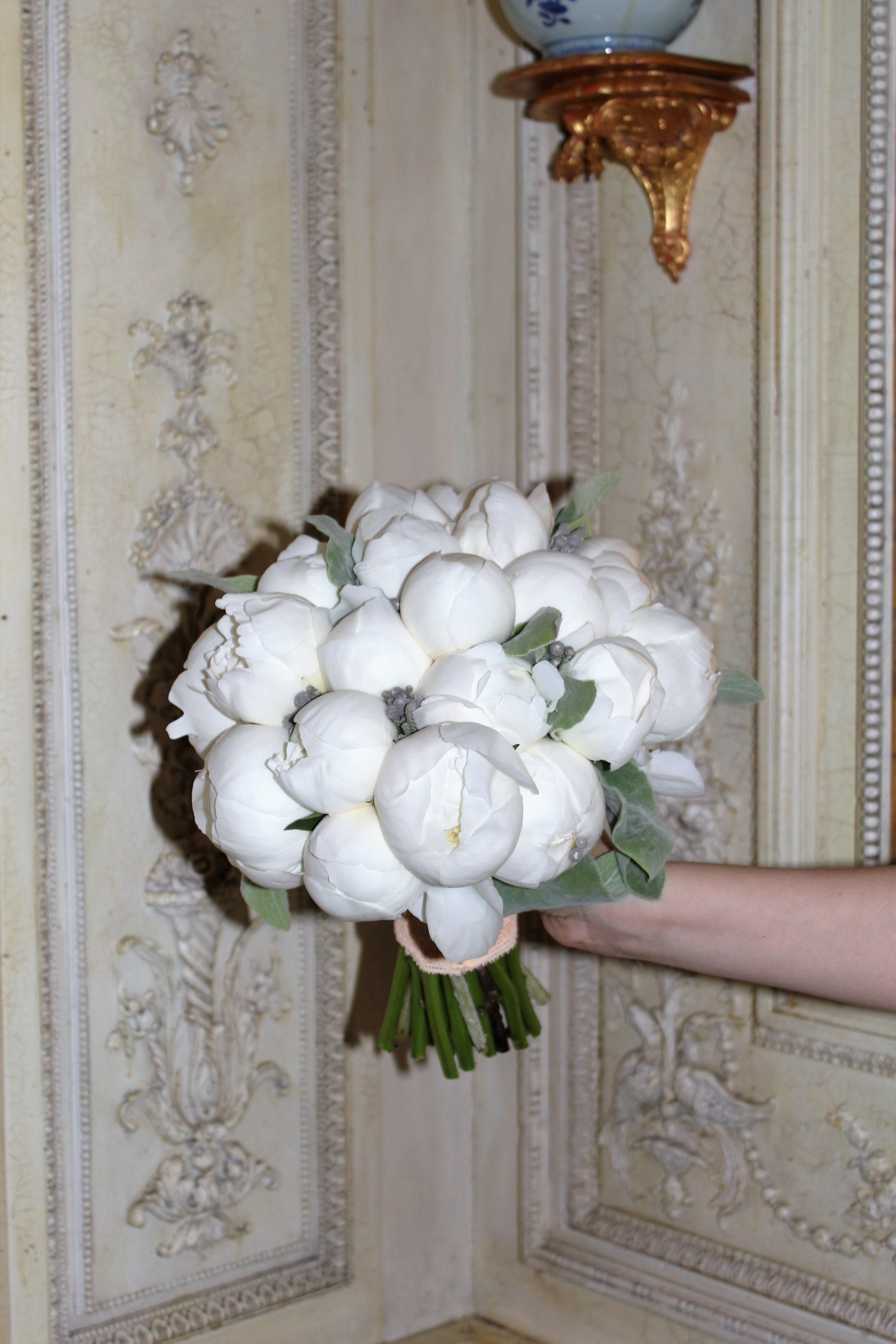 Букет невесты из пионов Москва