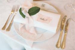 Серверовка стола на свадьбе