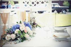 Президиум стола на свадьбе