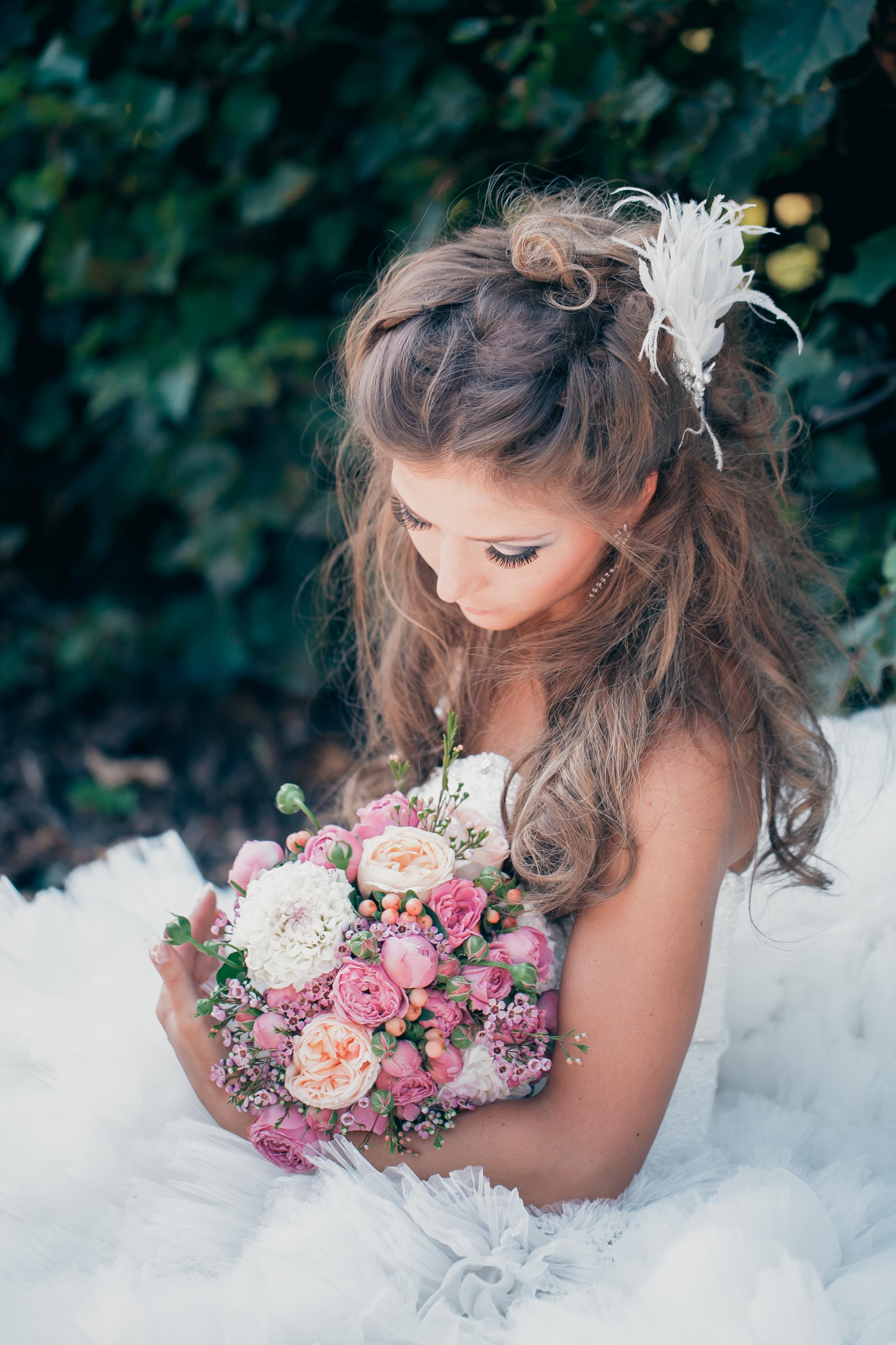 Стильный букет невесты 2017 Москва