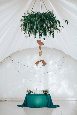 Лесная свадьба. Свадьба в шатре.