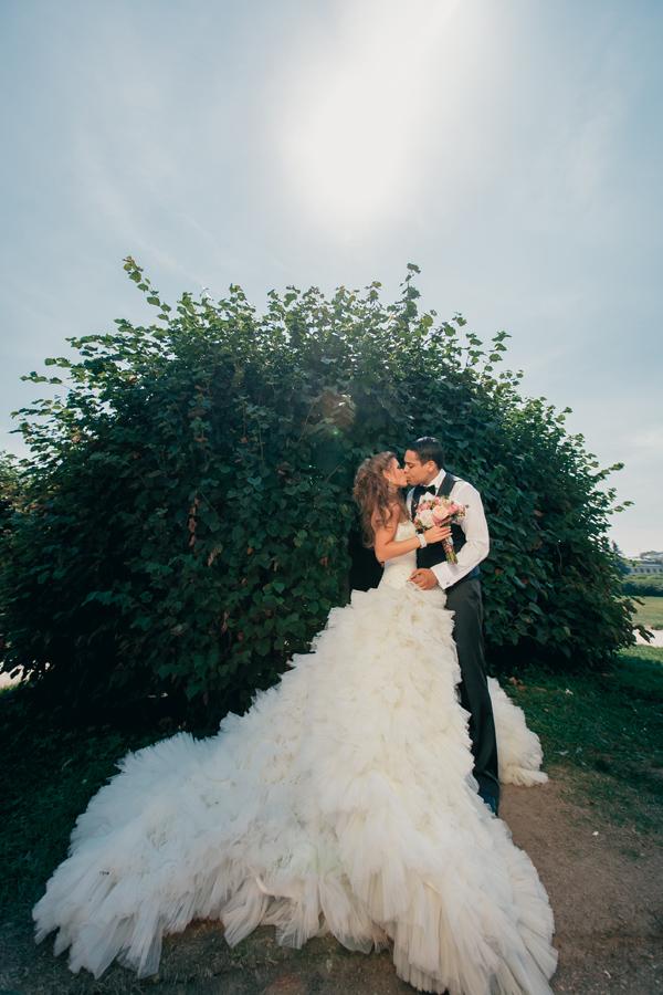 Свадьба в усадьбе в Москве