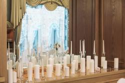 Президиум молодых на свадьбе