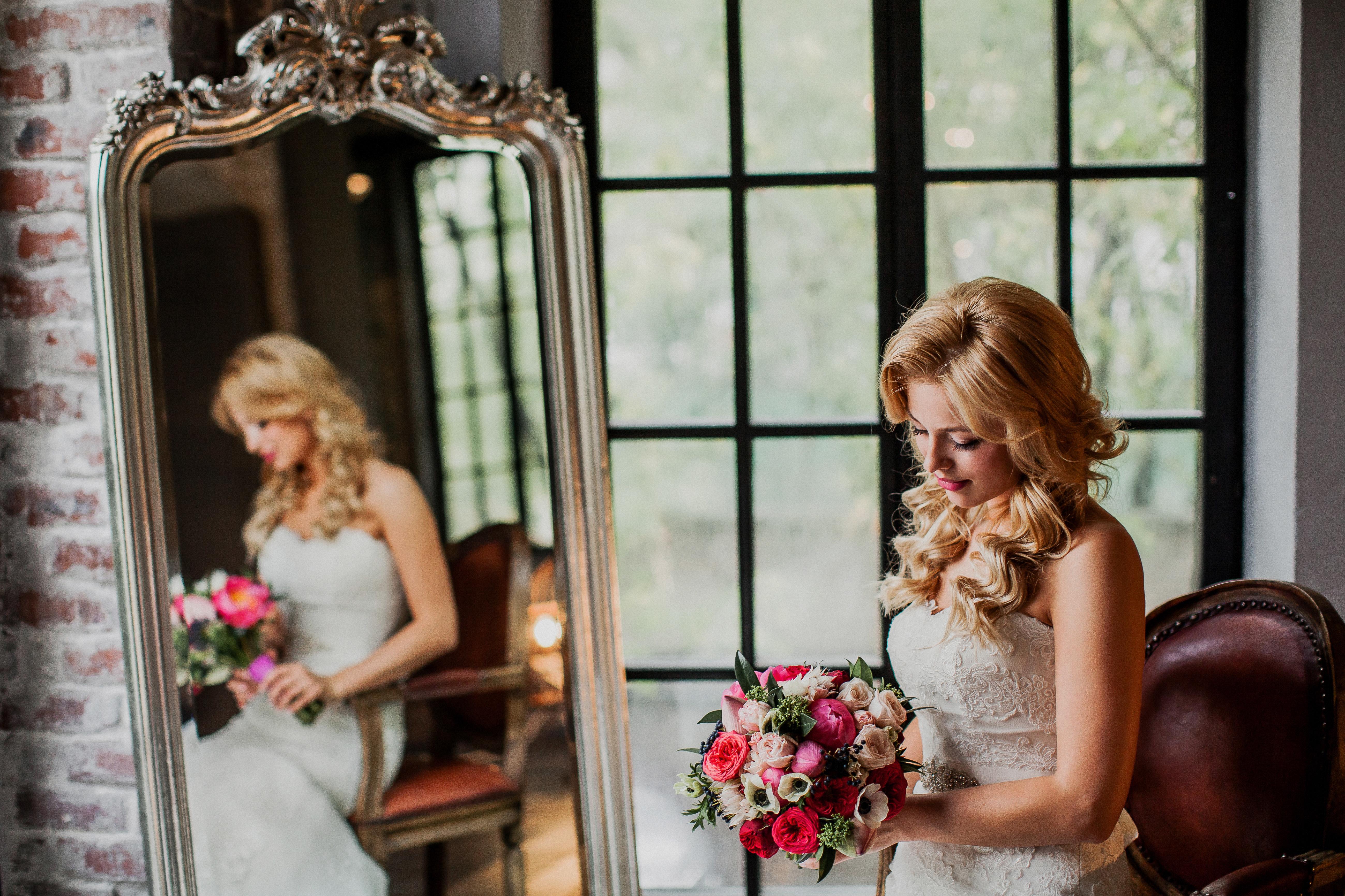 Яркий Букет невесты в Москве