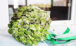 Букет невесты изумрудный в Москве