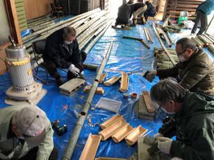 竹灯籠・竹水羊羹の竹細工が行われました!