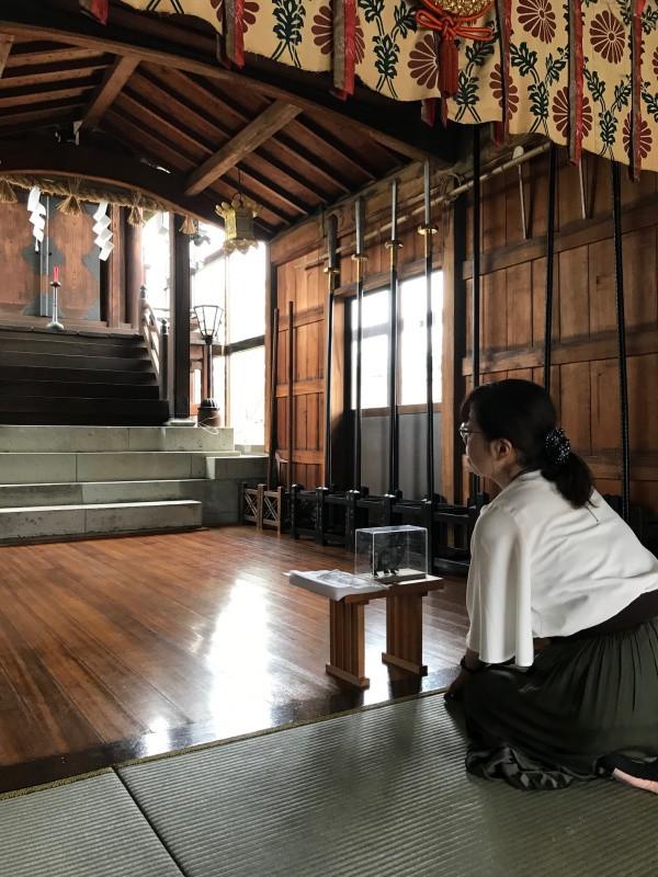 黒龍神社 語り部