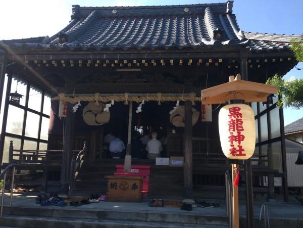 黒龍神社 半夏生祭り