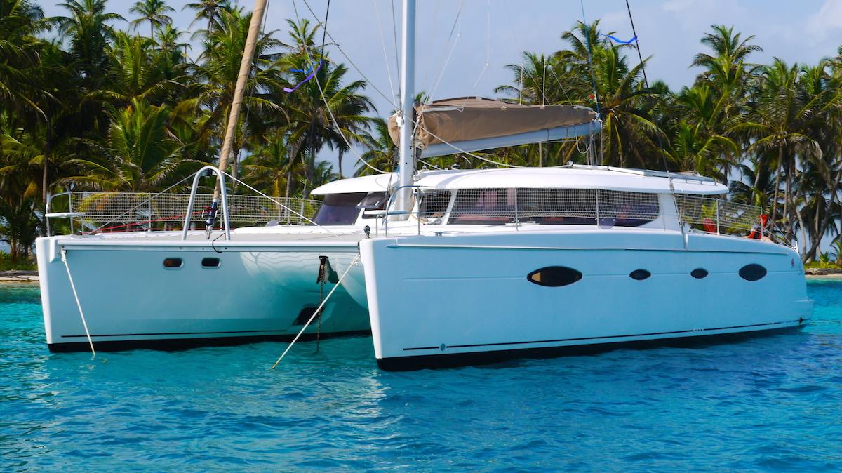 catamaran san blas