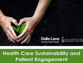 Health Care Sustainability and Patient Engagement