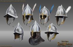 Pelargir helmets variety